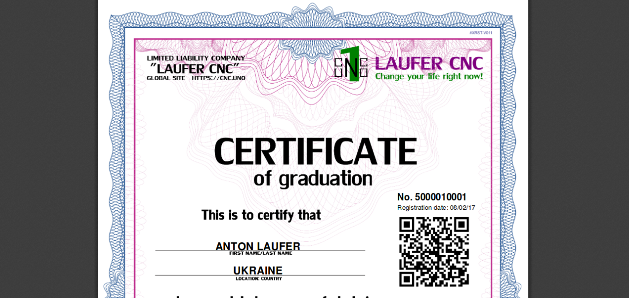 Laufer Cnc Operator Programmer Cnc Training Certification